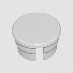Capuchon gris pour bouton 14mm