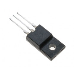 Transistor TO220-ISO MosFet N STP10NK80ZPF