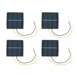 Lot de 4 cellules solaires 60x60mm 1,5V 170mA